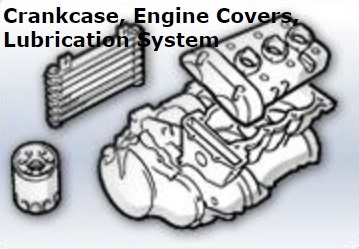 Crankcase, Engine Covers...
